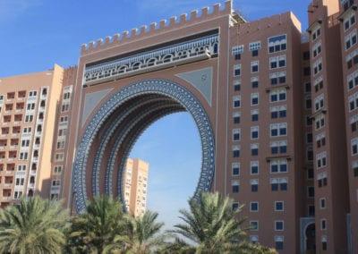 Entry to the Ibn Battuta Gate complex in Dubai.